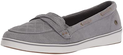 640d747d6f Amazon.com | Grasshoppers Women's Windham Suede Boat Shoe | Loafers ...