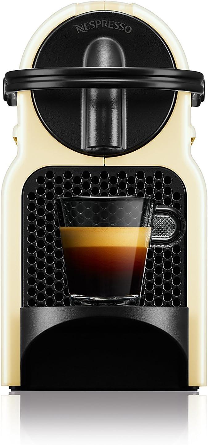 Nespresso DeLonghi Inissia EN80.CW - Cafetera monodosis de ...