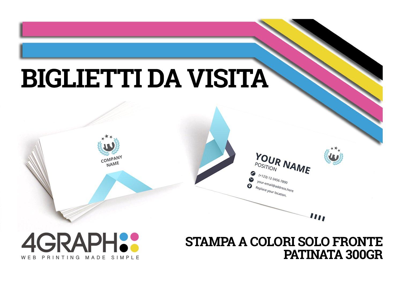 10.000 tarjetas de visita (8,5 x 5,5 con impresión de personalizada sul fronte sobre papel pátina de impresión 300 gr. 2b170d