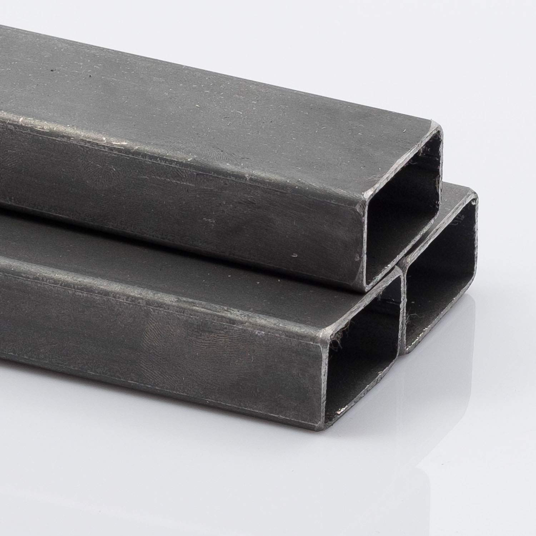 Tubo rectangular de acero, 50 x 25 x 2 mm 2000 mm, 1