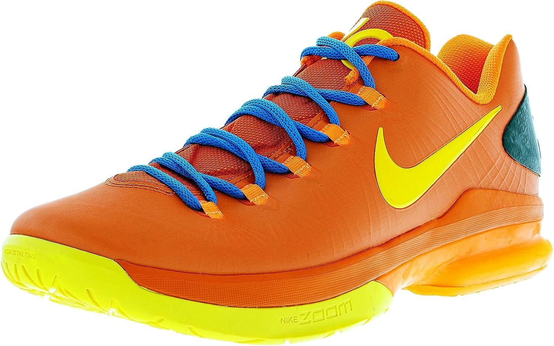 factory authentic cheapest price new lifestyle Amazon.com | Nike KD V Elite - Team Orange/True Yellow-Total ...