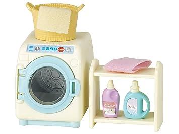 Sylvanian Families- Washing Machine Set Mini muñecas y Accesorios ...