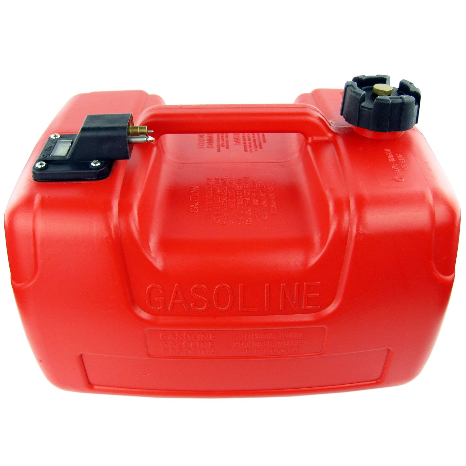 SEAWELL Portable Boat Fuel Tank 3.2 Gallon 12L for Yamaha Marine Outboard Fuel Tank W/Connector