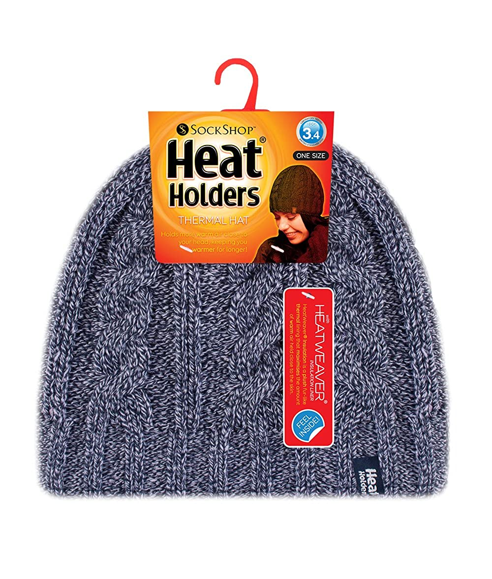 Heat Holders - Damen bunt muster strickmütze warm wintermütze ...