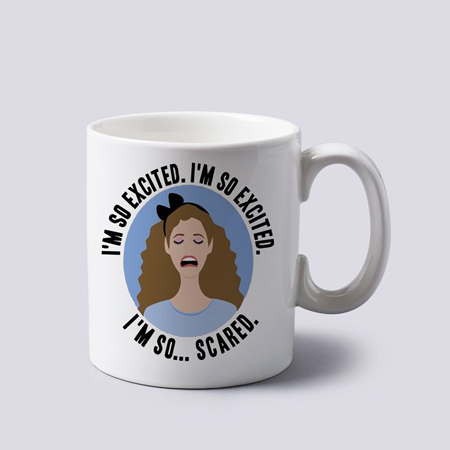Amazon I m so Excited Jessie Spano Mug Cup Two Sides 11 Oz