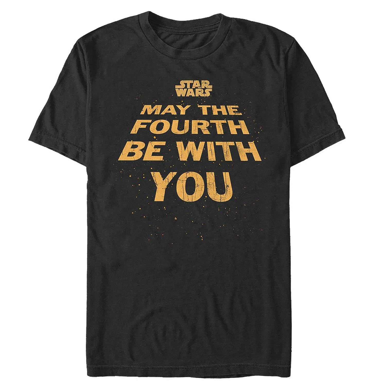 Star Wars Mens May The Fourth Opening Crawl T-Shirt