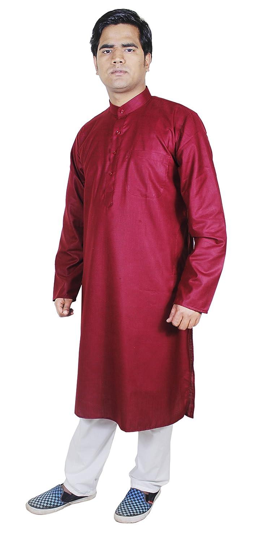 RoyaltyLane Camisa de lino pijama color rojo manga larga algodón vestidos vintage: Amazon.es: Ropa y accesorios