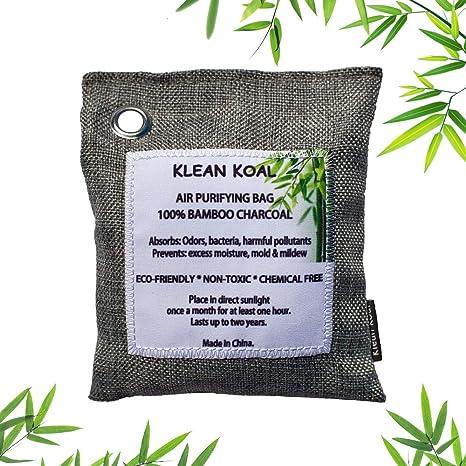Amazon.com: Klean Koal - Bolsa de purificación de aire (7.05 ...
