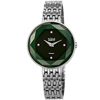 Amazon.com: Burgi BUR253 - Reloj de pulsera para mujer 4 ...