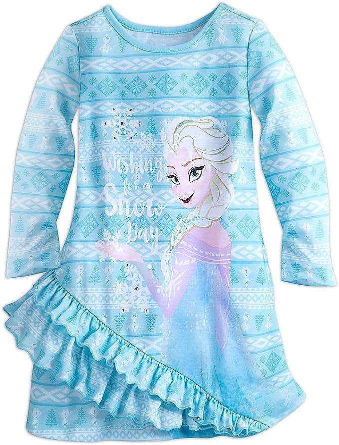 Frozen Multi Disney Elsa Nightshirt for Girls