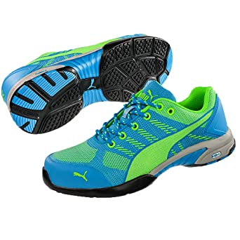 Puma 642900.37 Celerity Knit Blue zapatos de seguridad para ...