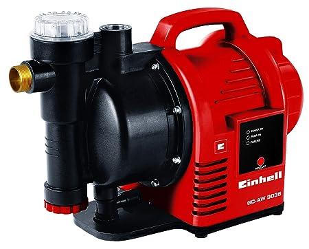 Einhell Hauswasserautomat GC-AW 9036 (900W, 4,3 bar Druck, 3600 l/h Fördermenge, Vorfilter, Rückschlagventil, autom. Durchflu