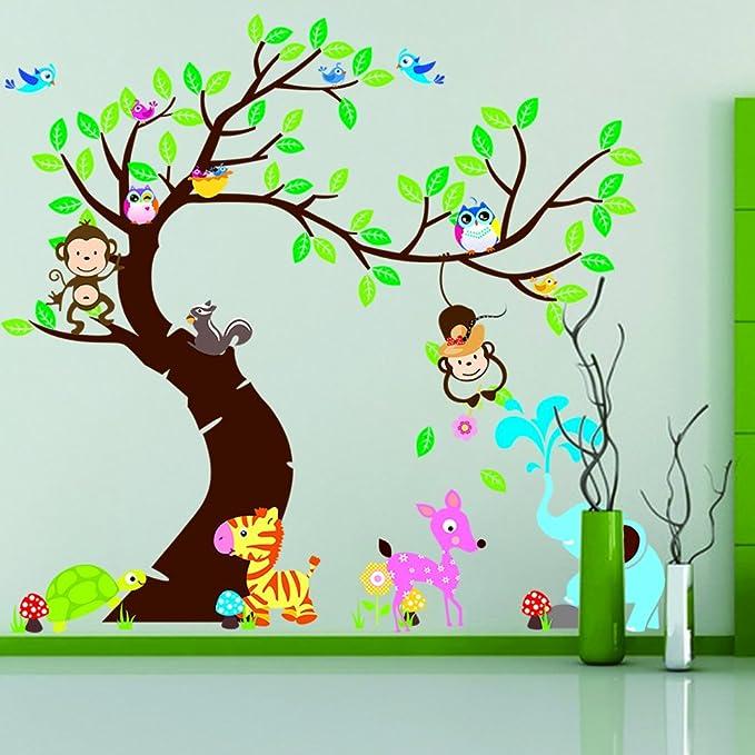 42 opinioni per Rainbow Fox DIY Immagine estraibile Wall Decor Sticker Decal personalizzati