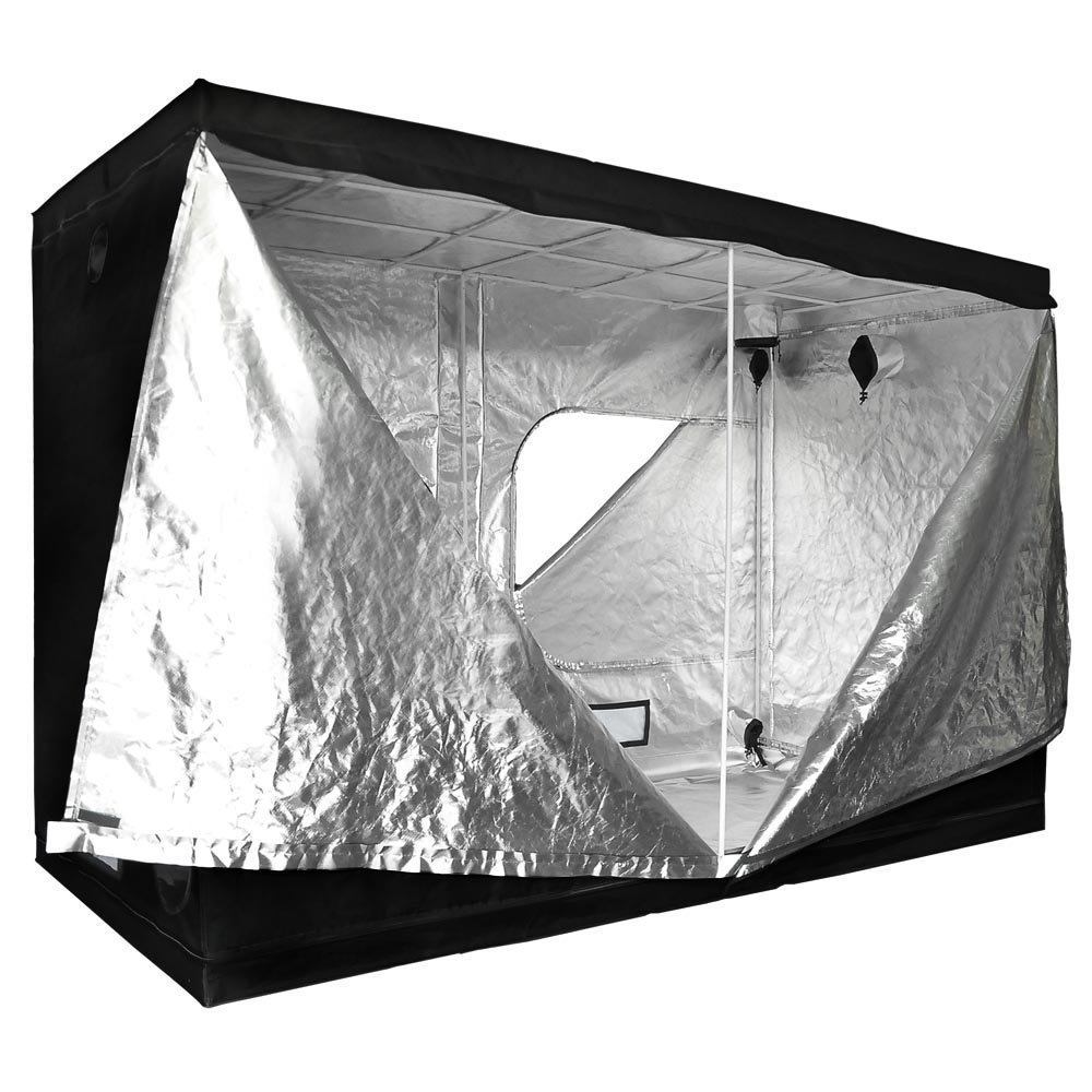 118x60x78 Inches 352 lbs Capacity Large Door Hydroponics Interior Mylar Reflective Grow Tent Cover w/ Metal Rods Frame & 600D Oxford Cloth for Indoor Garden Plant Growing by Generic (Image #2)