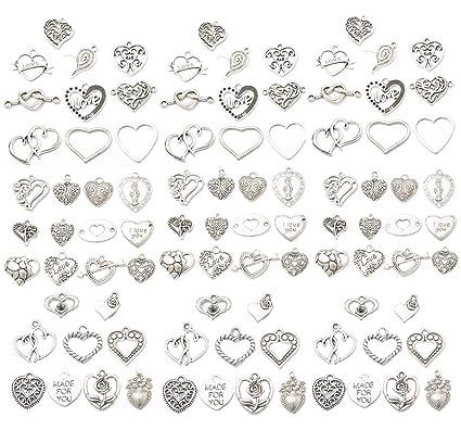 10 x Tibetan Silver Christmas Birthday Gift Box Present Charms Pendants Beads