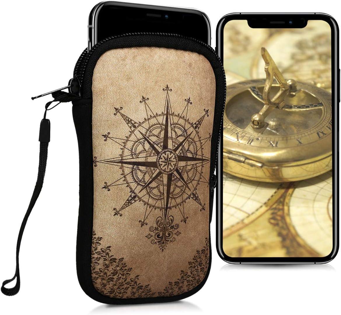 kwmobile - Funda de neopreno para smartphone (tamaño S, 4,5 ...