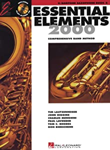Hal Leonard Essential Elements for Band - Eb Bariton Saxophone (Book 2 with EEi)