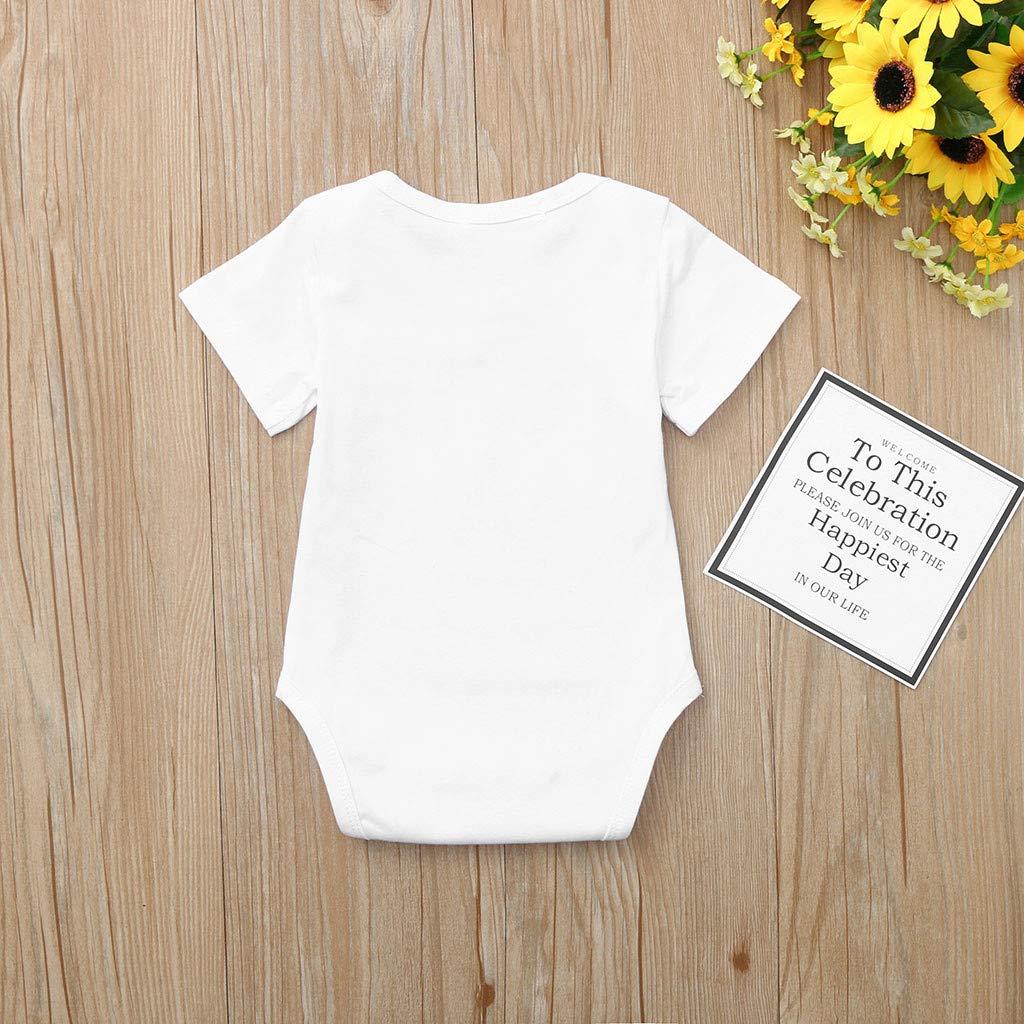 Baby Body Wei/ß f/ür M/ädchen Baby Body Weiss Unisex Baby Kurzarm Body aus 100/% Baumwolle im 5er Pack Baby Body Wei/ß f/ür Jungen