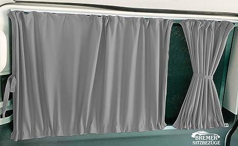 T4 Transporter - Cortinas para el parasol con portón trasero o puertas correderas, color gris: Amazon.es: Bebé