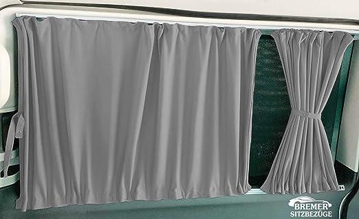 Mercedes Vito Viano W639 kurzer Radstand Ma/ß Gardinen Vorh/änge Sonnenschutz ab BJ 2003-2014 Farbe Schwarz