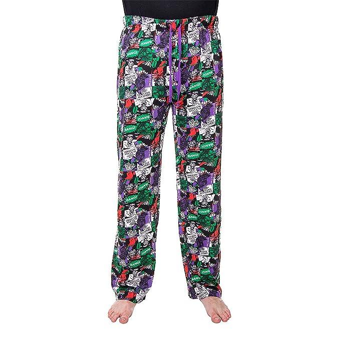 Joker Pantalones de Estar por Casa (Multicolor) YYncci