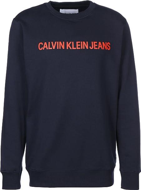 Calvin Klein Jeans Institutional Logo Sudadera: Amazon.es: Ropa y accesorios