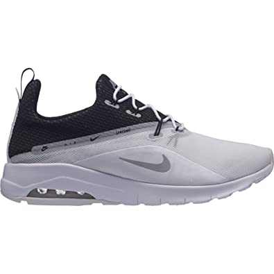 9622500859 Nike Men's Air Max Motion Racer 2 Running Shoe White/Wolf Grey/Black Size