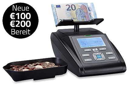 ZZap ms40i - Contador de monedas y billetes con impresora ...