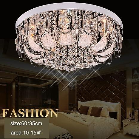Lampadari Rotondi Moderni.Illuminazione Lampadari A Soffitto Lampadari In Cristallo