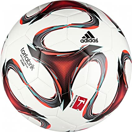adidas F93533 Torfabrik - Balón de fútbol, Color Blanco, Rojo ...