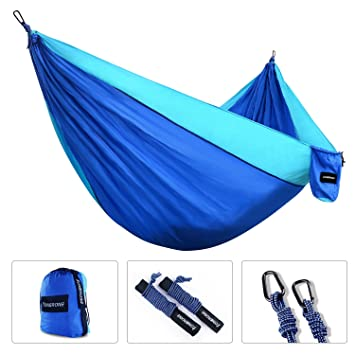 tonerone double camping hammock best lightweight  u0026 portable two person hammock for backpacking travel    amazon    tonerone double camping hammock best lightweight      rh   amazon
