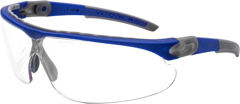 Pegaso 835.73.100 Gafas de Protección, Azul y Gris, L