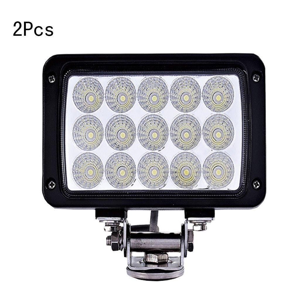 2 luces LED para techo de vehículo de 45 W fuera de ...