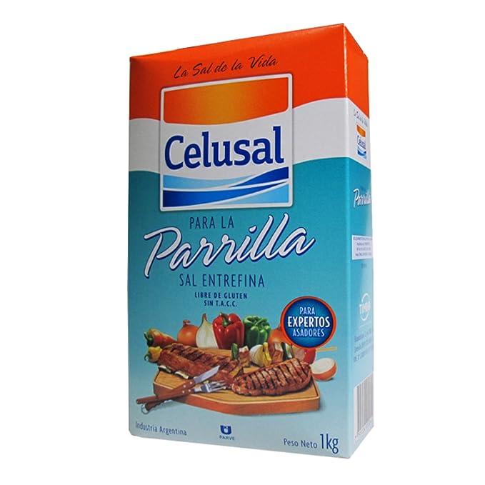 Celusal - Sal Entrafina - sal de grano para barbacoa