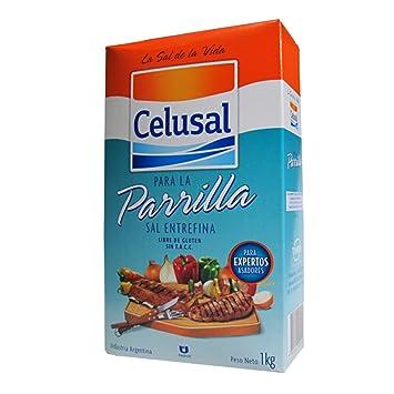 Amazon.com : Celusal - Sal Entrefina - Medium grain salt ...