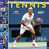 Tennis the U.S. Open 2017 Wall Calendar: The Official Calendar of the United States Tennis Association (Square Wall)