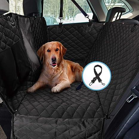 Pet Dog Car Seat Cover Hammock Backseat Protector Waterproof Durable Mesh Window