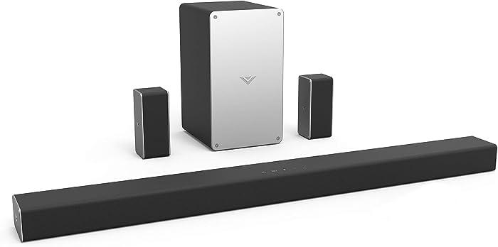"VIZIO SB3651-F6 36"" 5.1 Home Theater Sound Bar System, Black (Renewed)"
