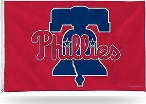 Rico Industries, Inc. Philadelphia Phillies Premium 3x5 Flag with Metal Grommets Outdoor House Banner Baseball