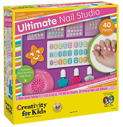 Girls Ulitmate Nail Polish Set And Nail Art Kits Girls Love This