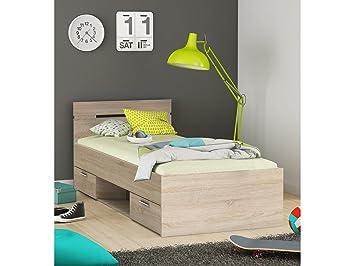 Kompaktbett Einzelbett Bettgestell Bett Bettrahmen Funktionsbett
