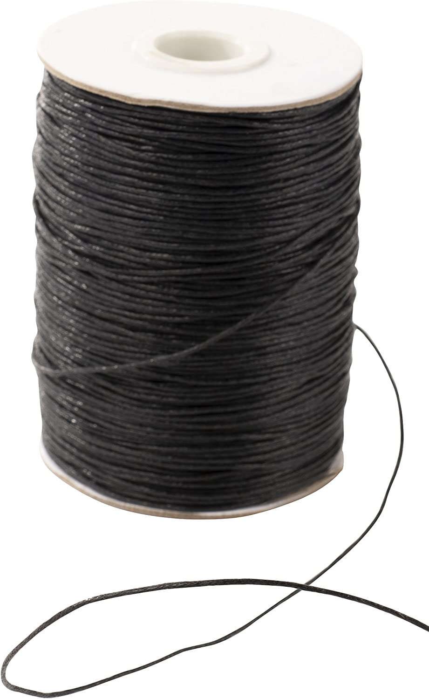 Cord Leather Book Binding; Waxed Cotton Thread Jewelry Macram\u00e9 2mm Green Waxed Cotton Cord Thread; 100M; Beading