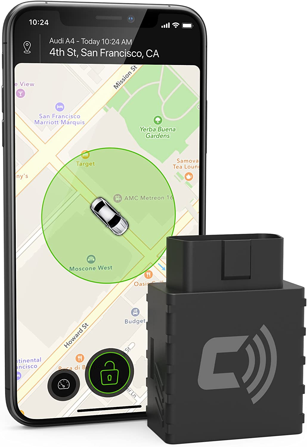 CarLock 2nd Gen Advanced Real Time 3G Car Tracker & Alert System