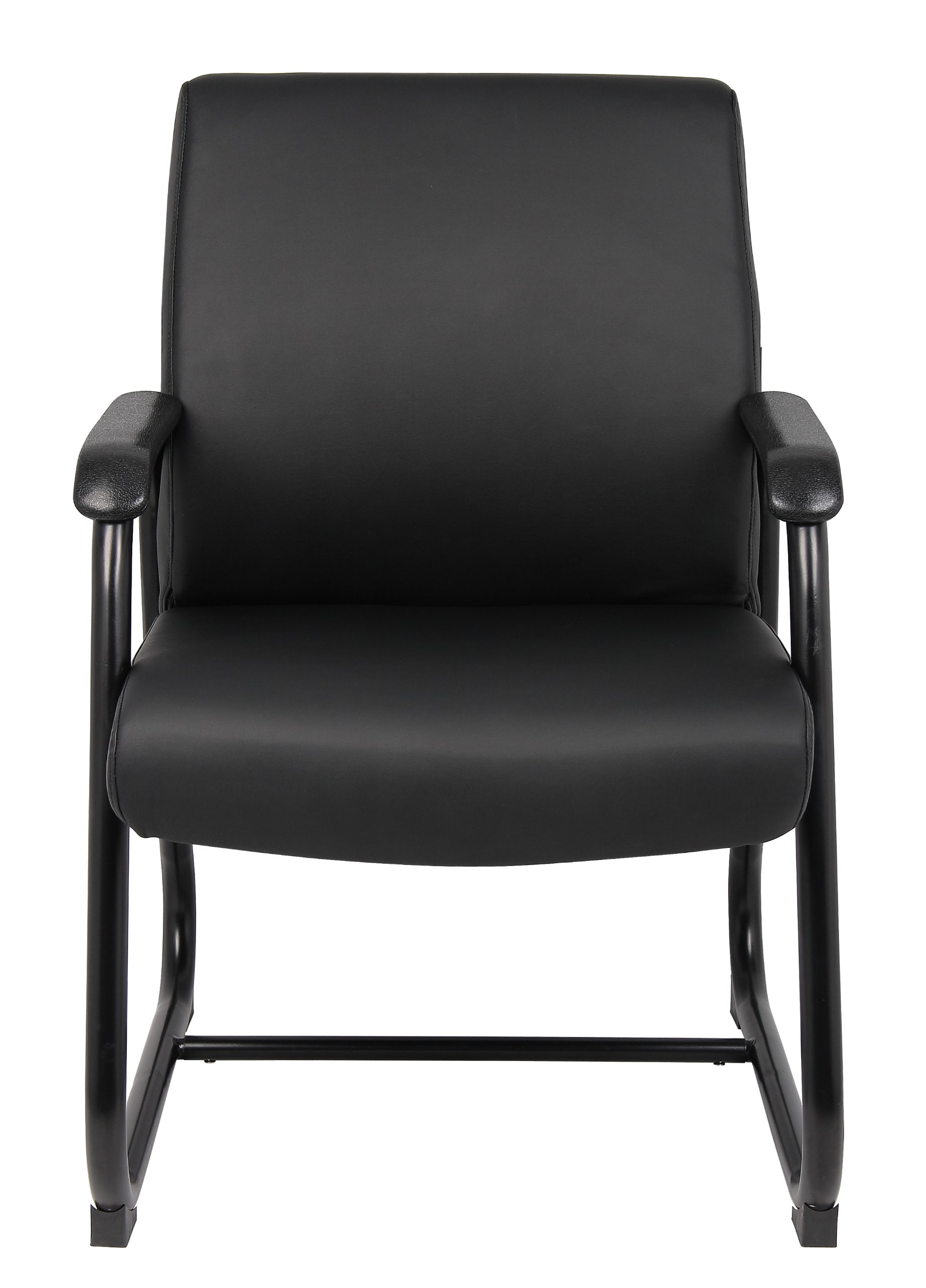 Boss Office Products B709 Heavy Duty Caressoft Guest Chair in Black by Boss Office Products (Image #3)