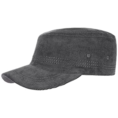 67265635eb5 Lipodo Corduroy Army Cap (One Size - Anthracite)  Amazon.co.uk  Clothing