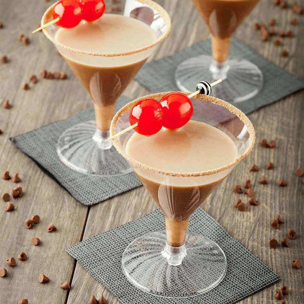 Plastic Martini Glass, Disposable Martini Glasses - Crystal Clear Premium Plastic - 4.75 oz - 100ct Box - Restaurantware by Restaurantware (Image #4)
