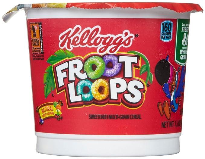 KelloggŽs, Cereales para tomar en frío - 20 de 42 gr. (Total ...