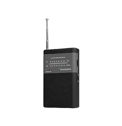 Sunstech RPS42BK - Radio portátil (Am, FM) Color Negro: BLOCK ...