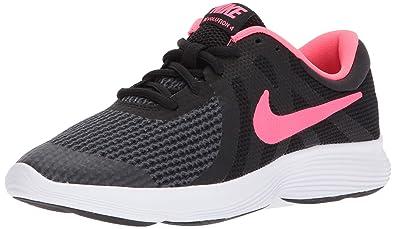 quality design 3fc78 3ef90 Nike Damen Revolution 4 (GS) Laufschuhe, Schwarz (BlackRacer Pink