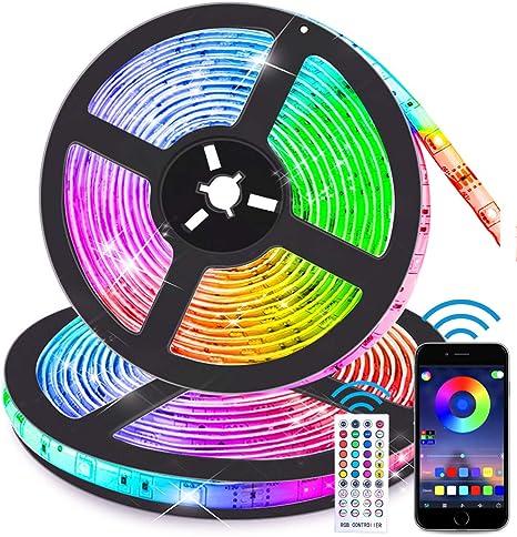 Led Strip Waterproof Flexible Bright Neon Light Strip For Room Multi Color Light